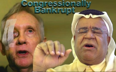 "Obaid Karki St.Sheetrock's Painfulpolitics Offensive Comedy Hepcat עביד כארכי الأخطل عبيد كركي.  What Jimmy Hoffa and Harry Reid have in common? Harry bankrupted Washington. He drained FEDs vaults bailing-out outfucked gaming industry of Nevada. He fucked IRS making penniless Donald Trump Gazillionaire, transferring their tax loots balling-out Defunct Atlantic City. Follow money Stephen. Harry is Joe Smith Sperm. That's why DEMs are getting an Israeli instead. Chuck Schumer. A Reptilian. Harry is Boring to TEARS Institutionalist, he should retired while George Bush [the kid] in office. Chuck Schumer is fine. DEMs know that they're congressionally bankrupt and ran outta voodoos to come back. The disaster is GOP. They don't know that they're politically bankrupt and they don't believe that they ain't money. I fully agree with Ann Coulter how she rightly described the Republican Stupidity, Arrogance and Narcissism. I was confused until I read this: ""America is in the fight of its life and if this country dies, the world dies"". Everything went fine until Ann Coulter said: 'the world dies'. She lost me. Invest in the 3 Most Dangerous Terrorist Organizations Isis, al-Qaida and Bokoharam."