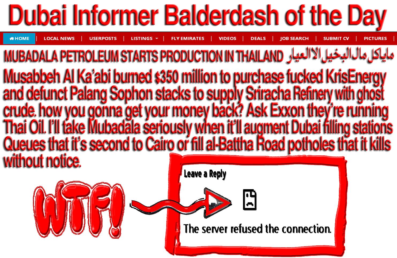 Musabbeh Al Ka'abi burned $350 million to purchase fucked