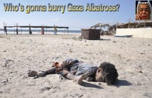 Who's gonna burry Gaza Albatross?