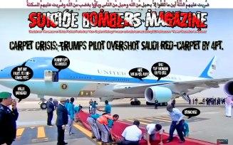 📛CARPET CRISIS: Trump's Pilot Overshot Saudi Red-Carpet by 4ft📛 ضُرِبت عليهِمُ الذِّلّةُ أين ما ثُقِفُوا إِلاّ بِحبلٍ مِّن اللّهِ وحبلٍ مِّن النّاسِ وبآؤُوا بِغضبٍ مِّن اللّهِ وضُرِبت عليهِمُ المسكنةُ