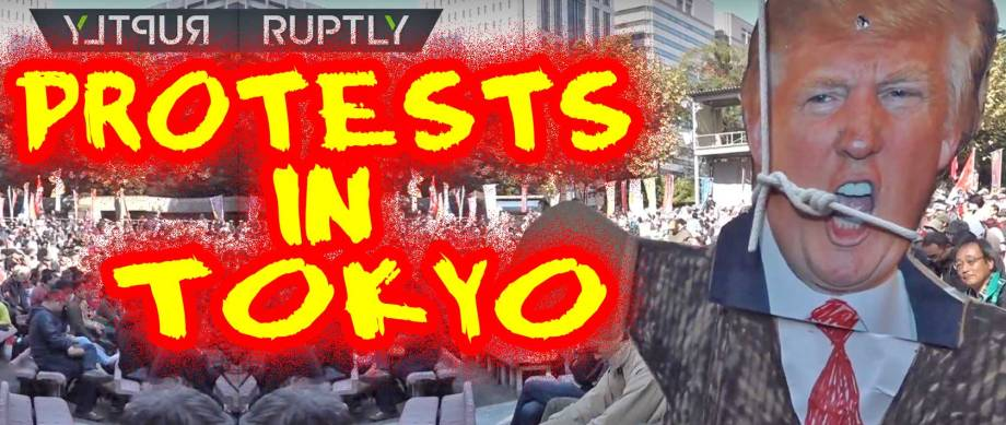 Protests-in-Tokyo